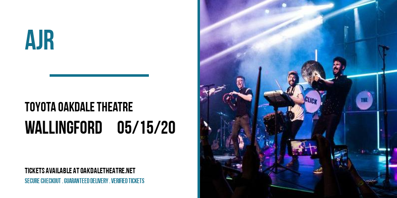 AJR [CANCELLED] at Toyota Oakdale Theatre