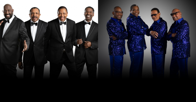 The Temptations & The Four Tops at Toyota Oakdale Theatre