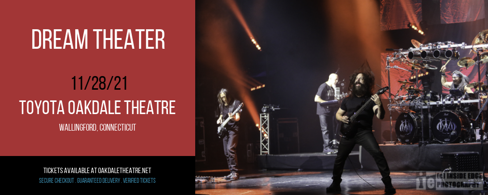 Dream Theater [POSTPONED] at Toyota Oakdale Theatre