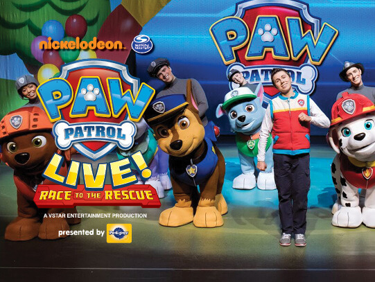 Paw Patrol Live at Toyota Oakdale Theatre