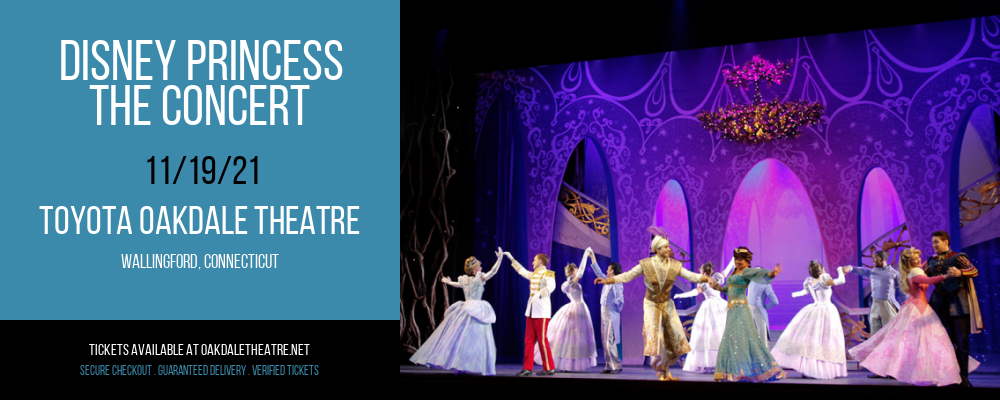 Disney Princess - The Concert at Toyota Oakdale Theatre