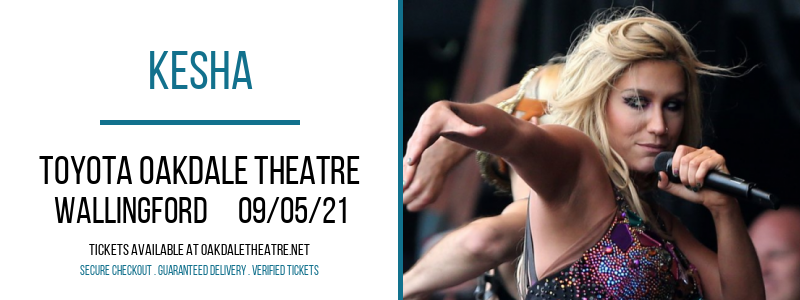 Kesha at Toyota Oakdale Theatre