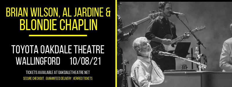 Brian Wilson, Al Jardine & Blondie Chaplin at Toyota Oakdale Theatre